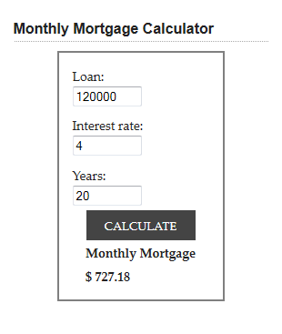 mortgage-and-loan-calculator screenshot 2