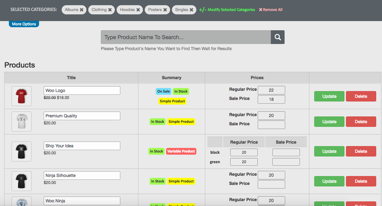 mq-woocommerce-products-price-bulk-edit screenshot 2