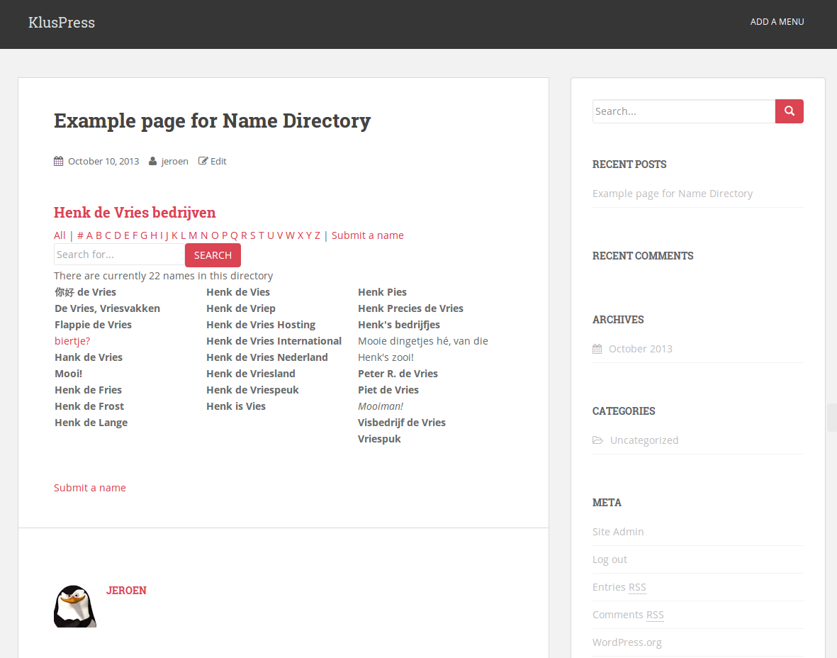 name-directory screenshot 6