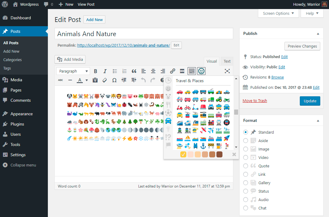 native-emoji screenshot 1