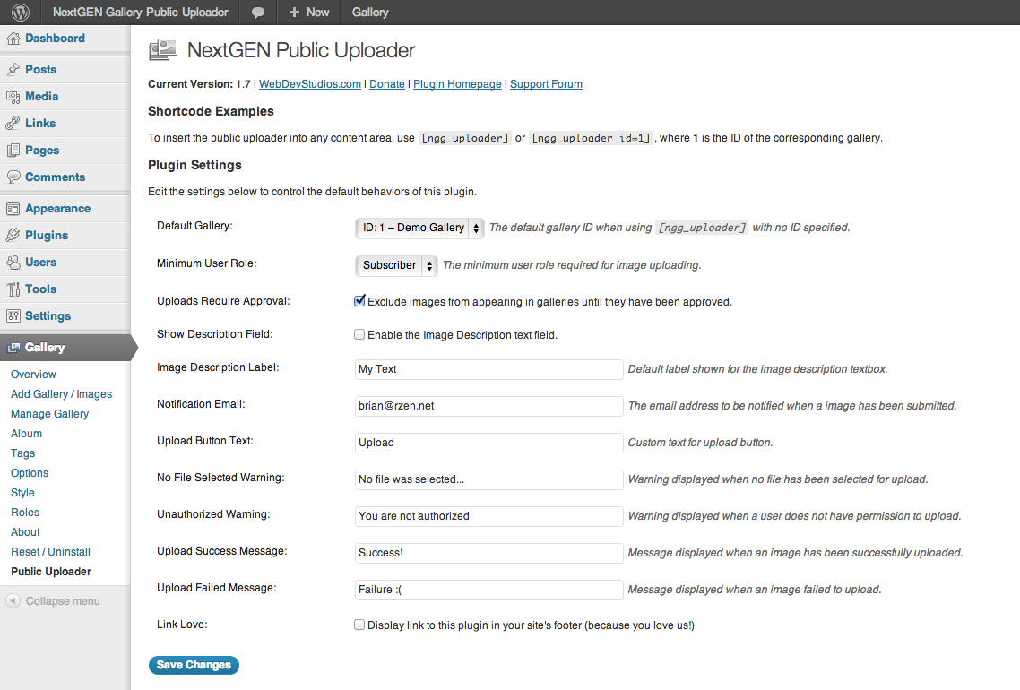 nextgen-public-uploader screenshot 3