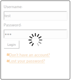 nice-login-register-widget screenshot 5