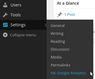 nk-google-analytics screenshot 1
