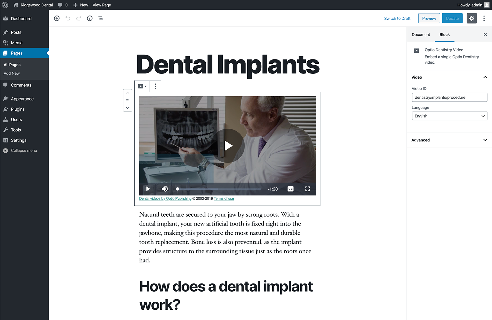 optio-dentistry screenshot 3