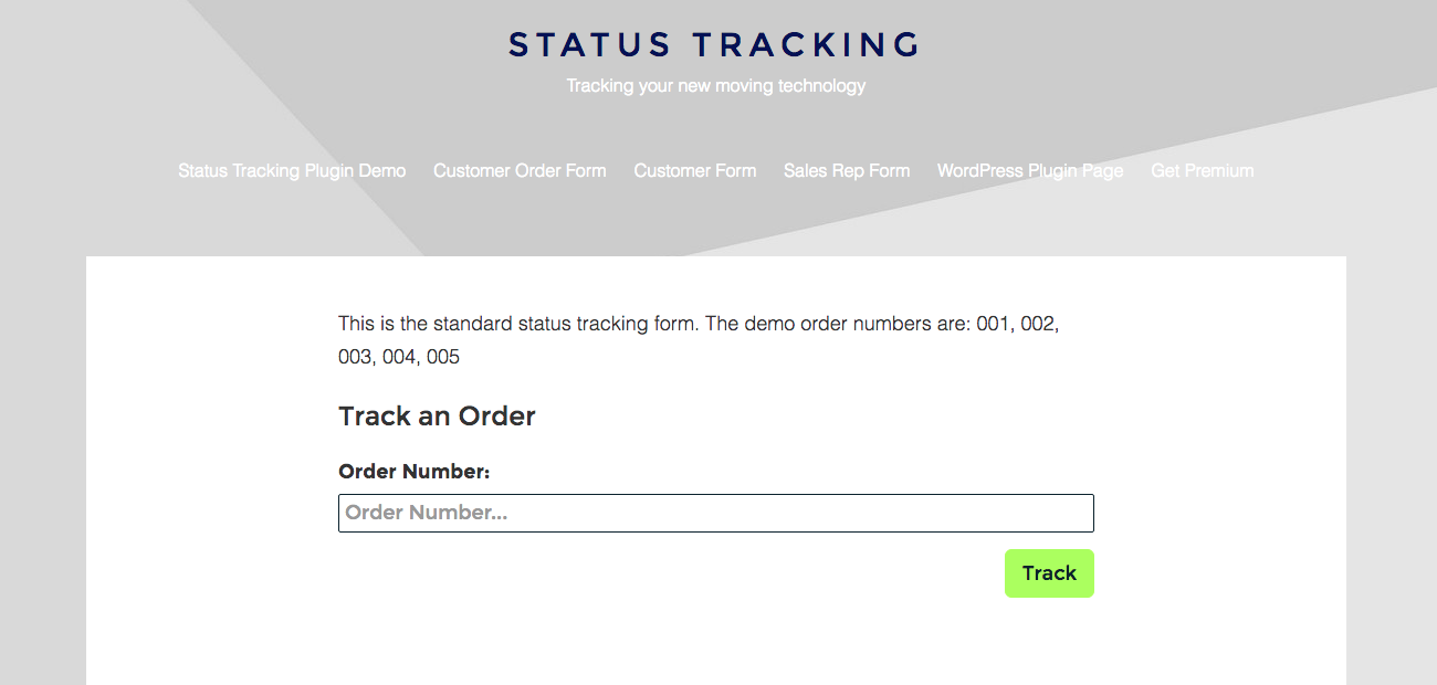 order-tracking screenshot 1