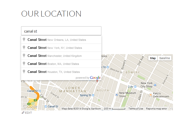 our-geolocation screenshot 3