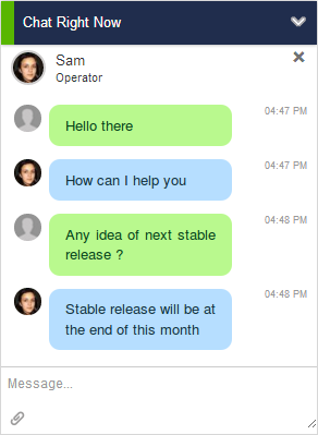 output-desk-live-chat screenshot 1