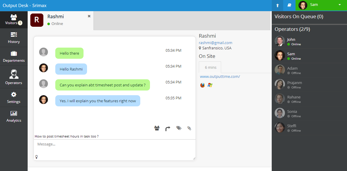 output-desk-live-chat screenshot 3