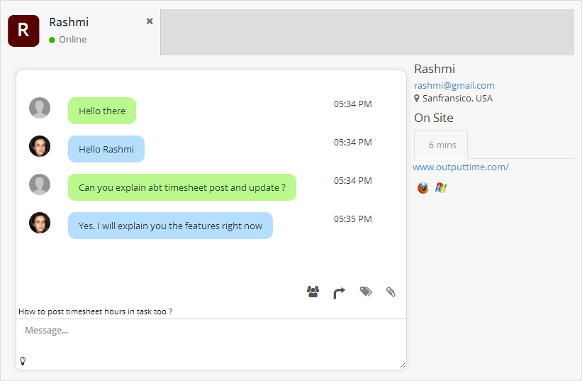 output-desk-live-chat screenshot 4