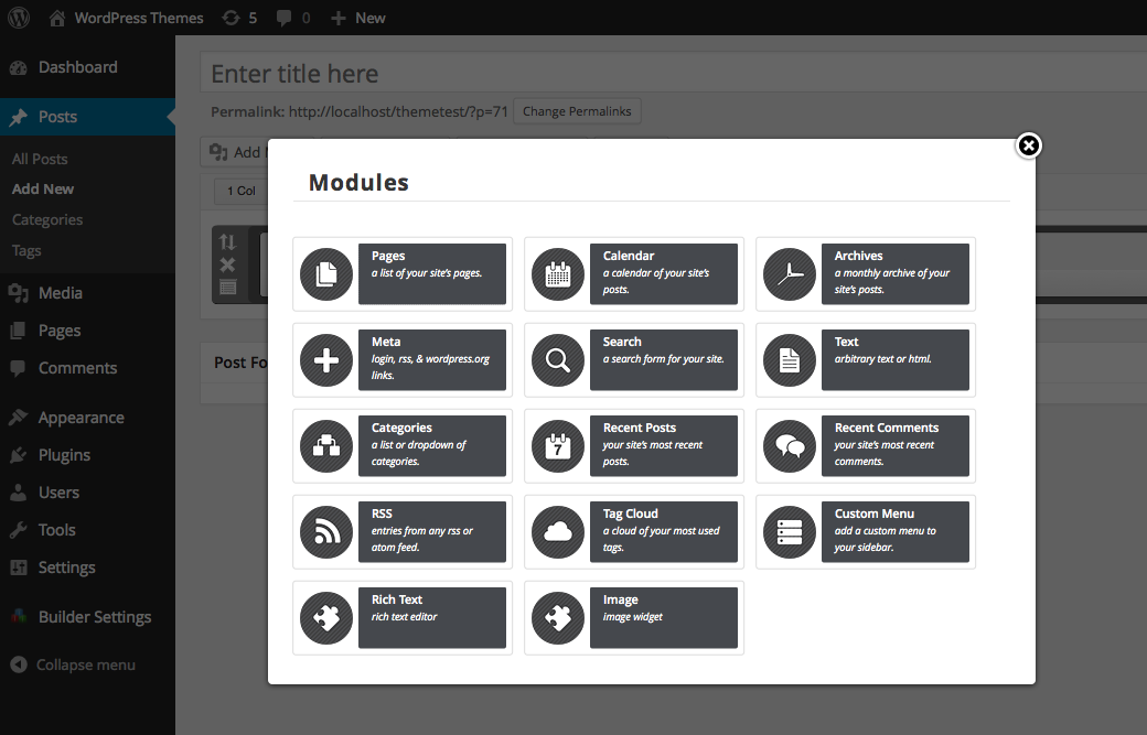 page-layout-builder screenshot 3