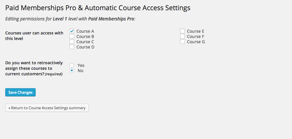 paid-memberships-pro-for-wp-courseware screenshot 2