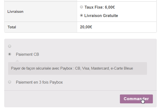 paybox-woocommerce-gateway screenshot 3