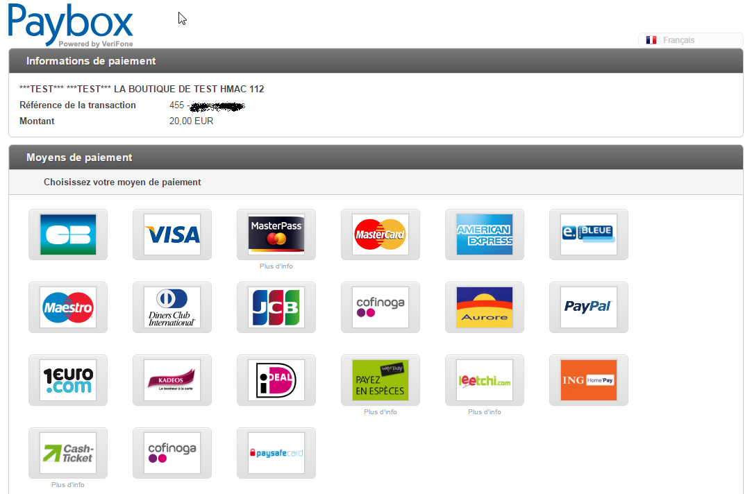 paybox-woocommerce-gateway screenshot 4