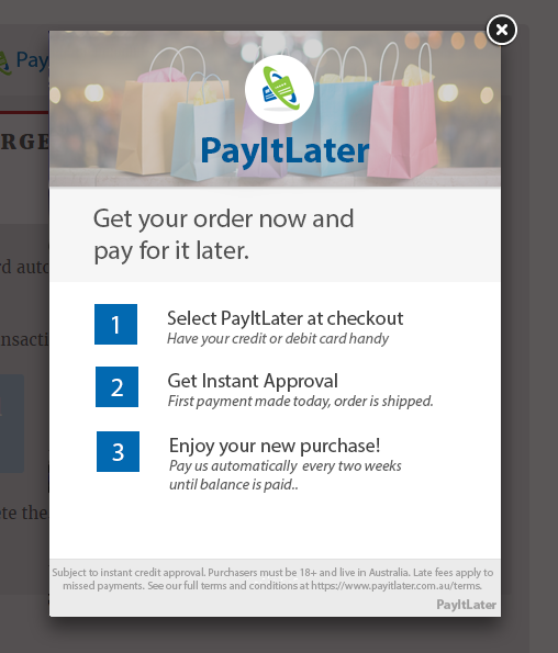 payitlater-gateway-for-woocommerce screenshot 2