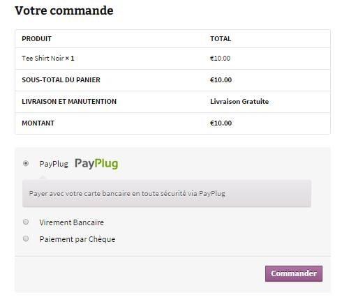 payplug-for-woocommerce screenshot 2