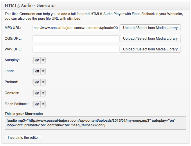pb-oembed-html5-audio-with-cache-support screenshot 2