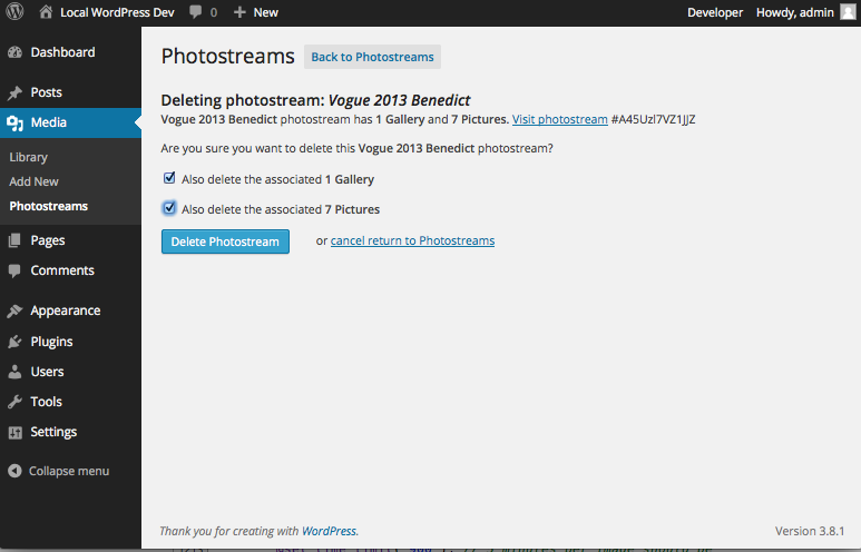 photostream-sync screenshot 3