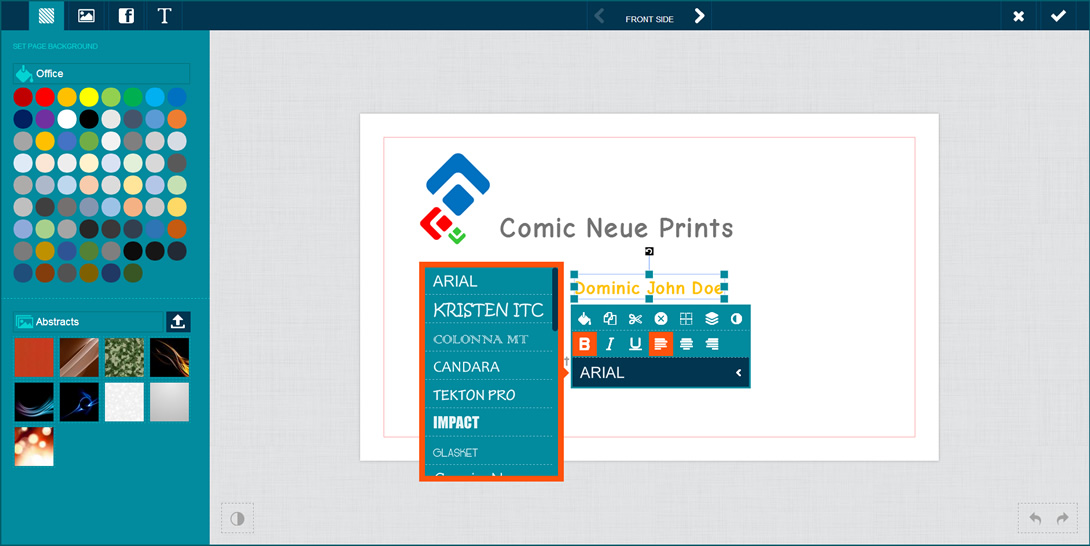 pitchprint screenshot 1