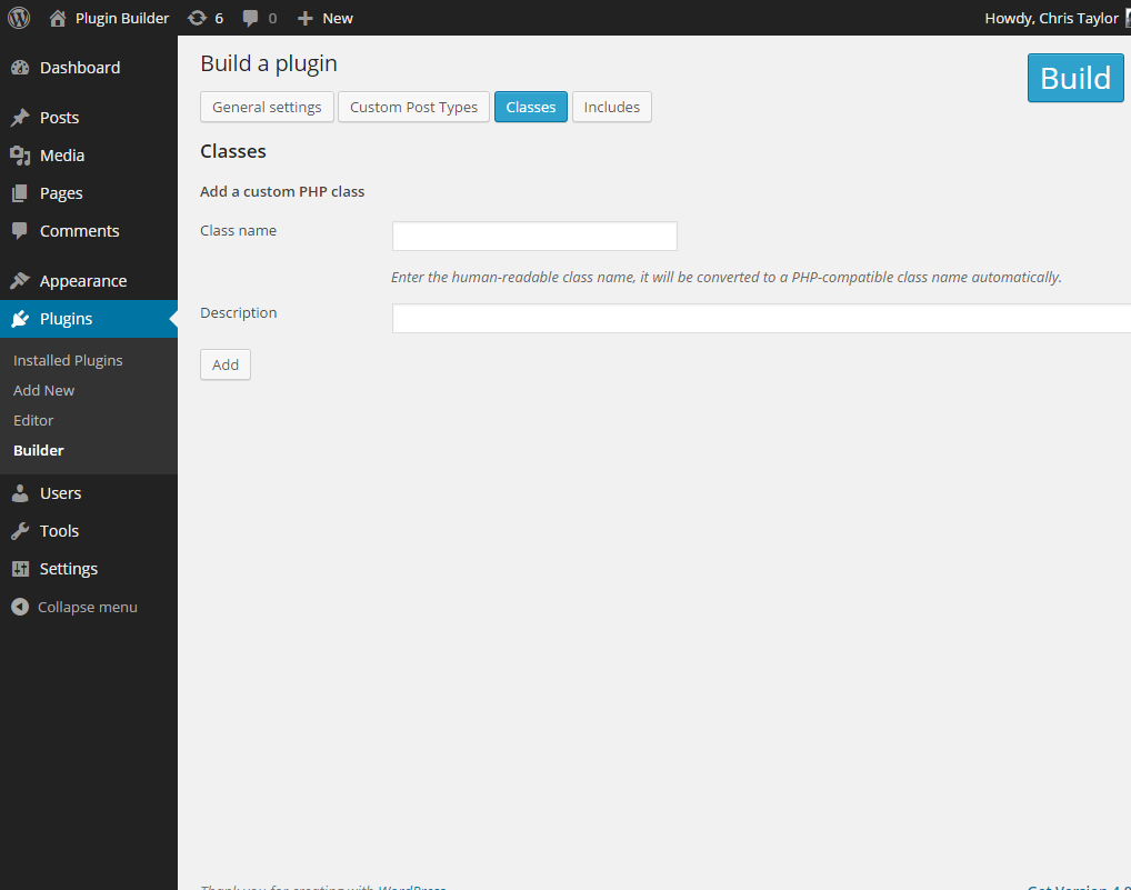 plugin-builder screenshot 4