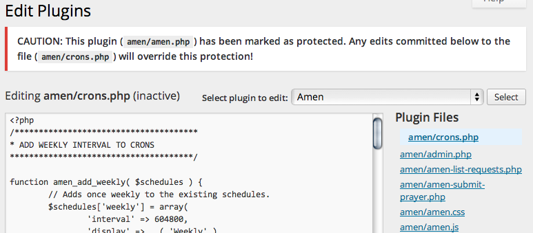 plugin-protector screenshot 6