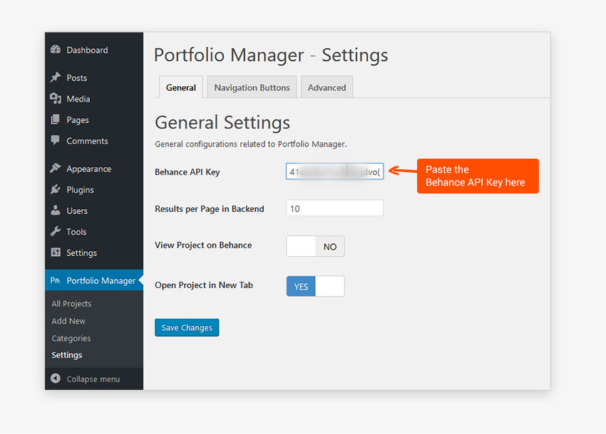 portfolio-manager-powered-by-behance screenshot 1