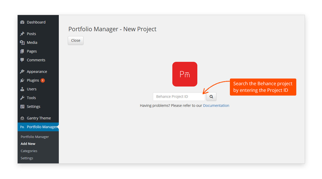 portfolio-manager-powered-by-behance screenshot 3