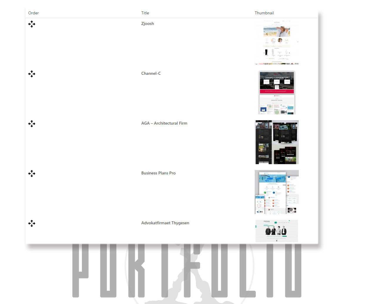 portfolio-x screenshot 7