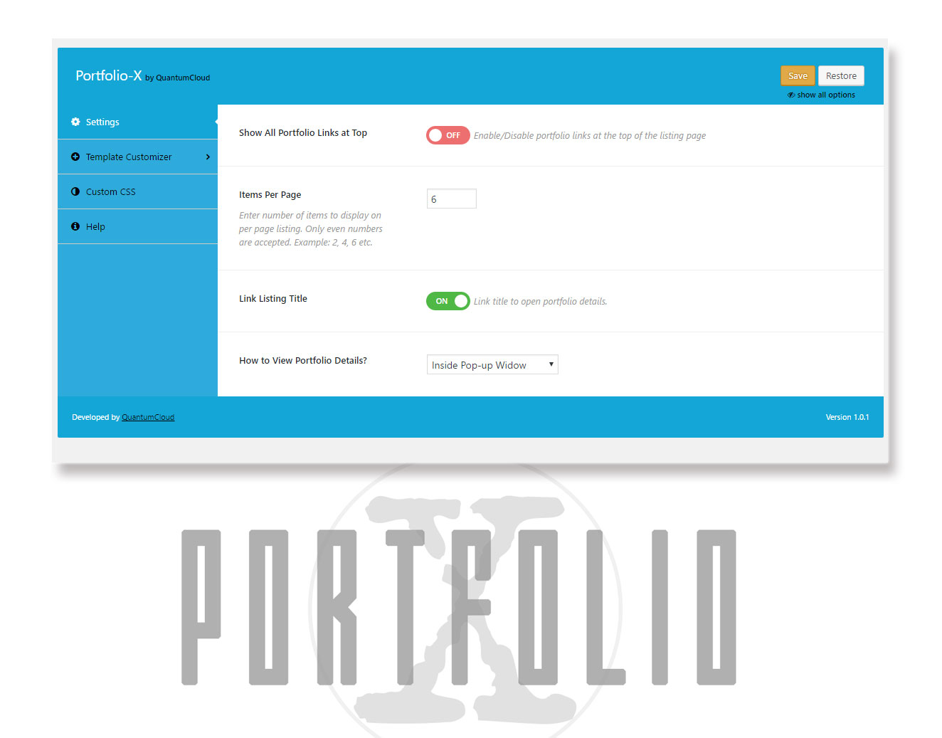 portfolio-x screenshot 8