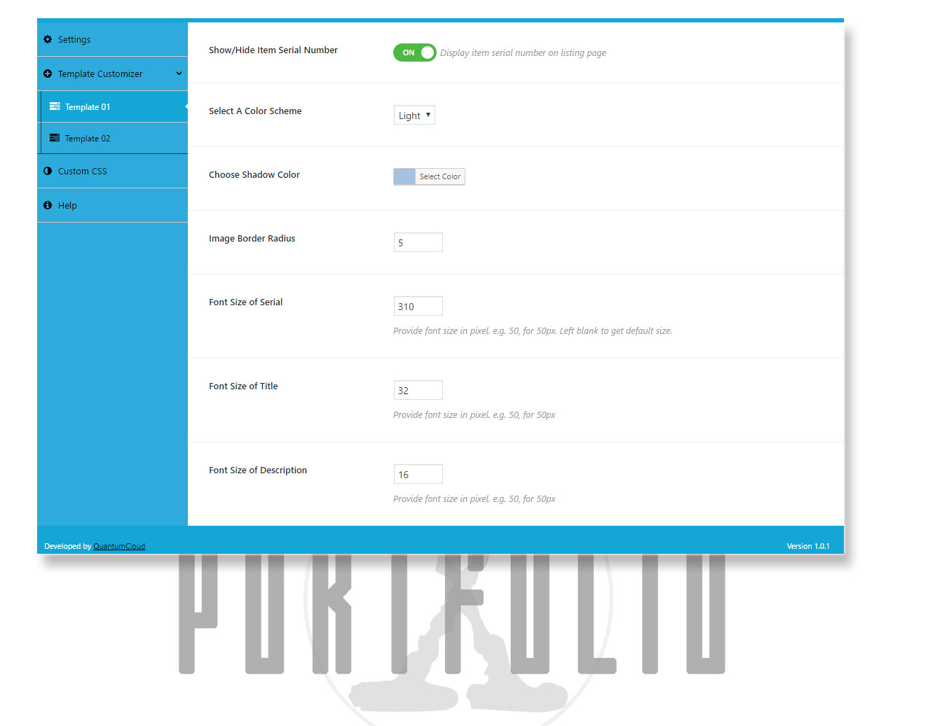 portfolio-x screenshot 9