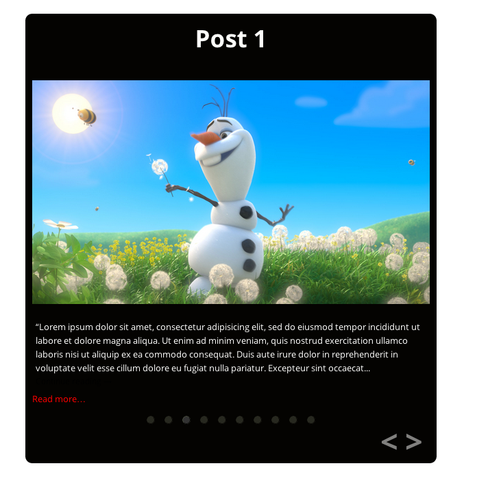 posts-slider screenshot 8