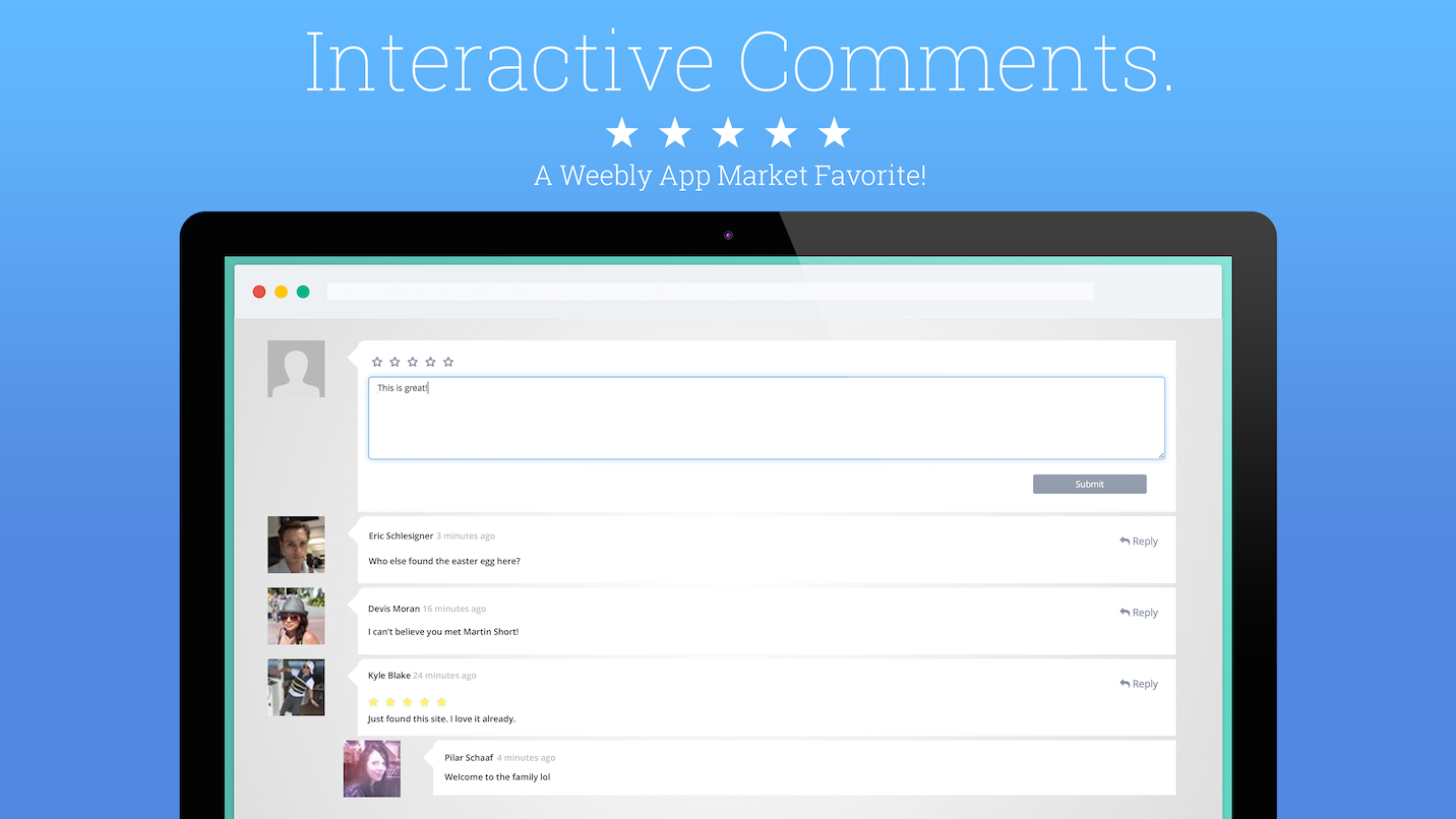 powr-comments screenshot 1