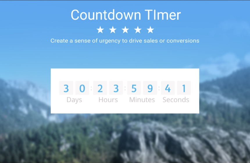 powr-countdown-timer screenshot 1