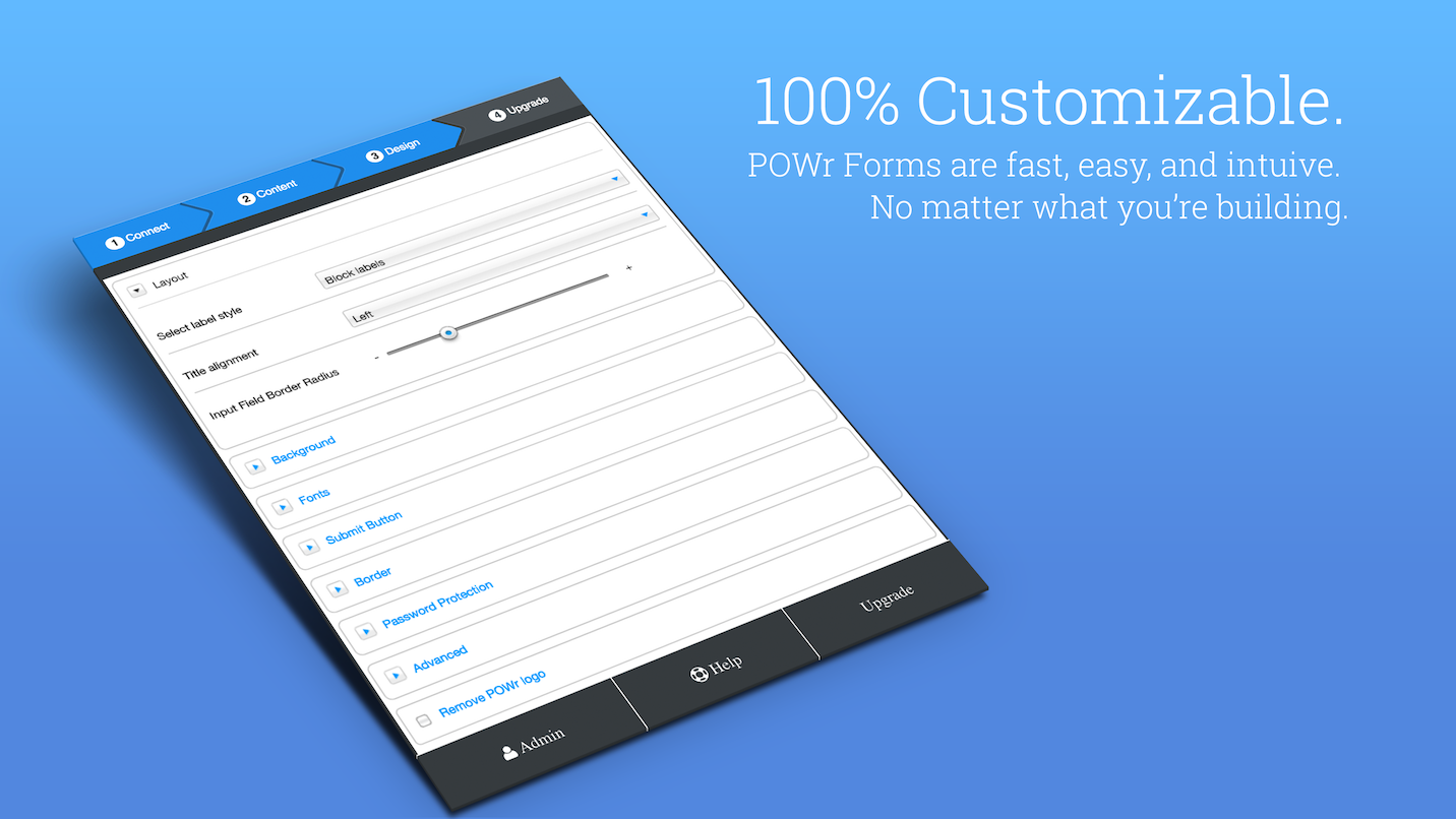 powr-form-builder screenshot 2