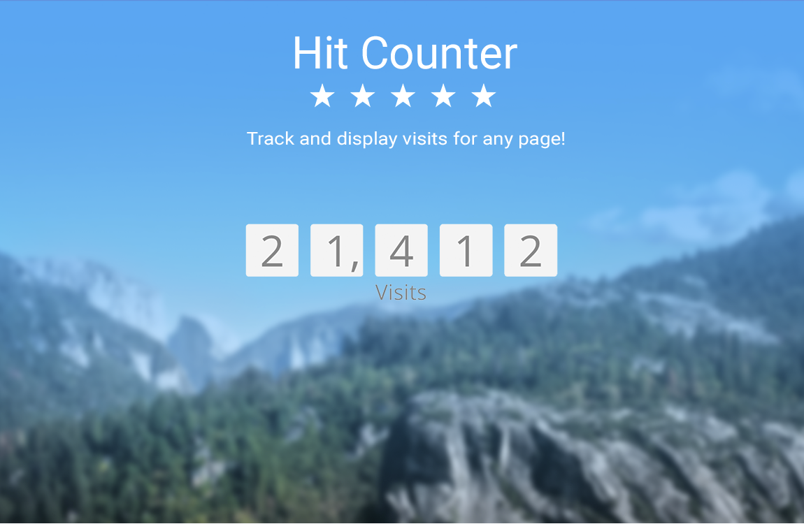 powr-hit-counter screenshot 1