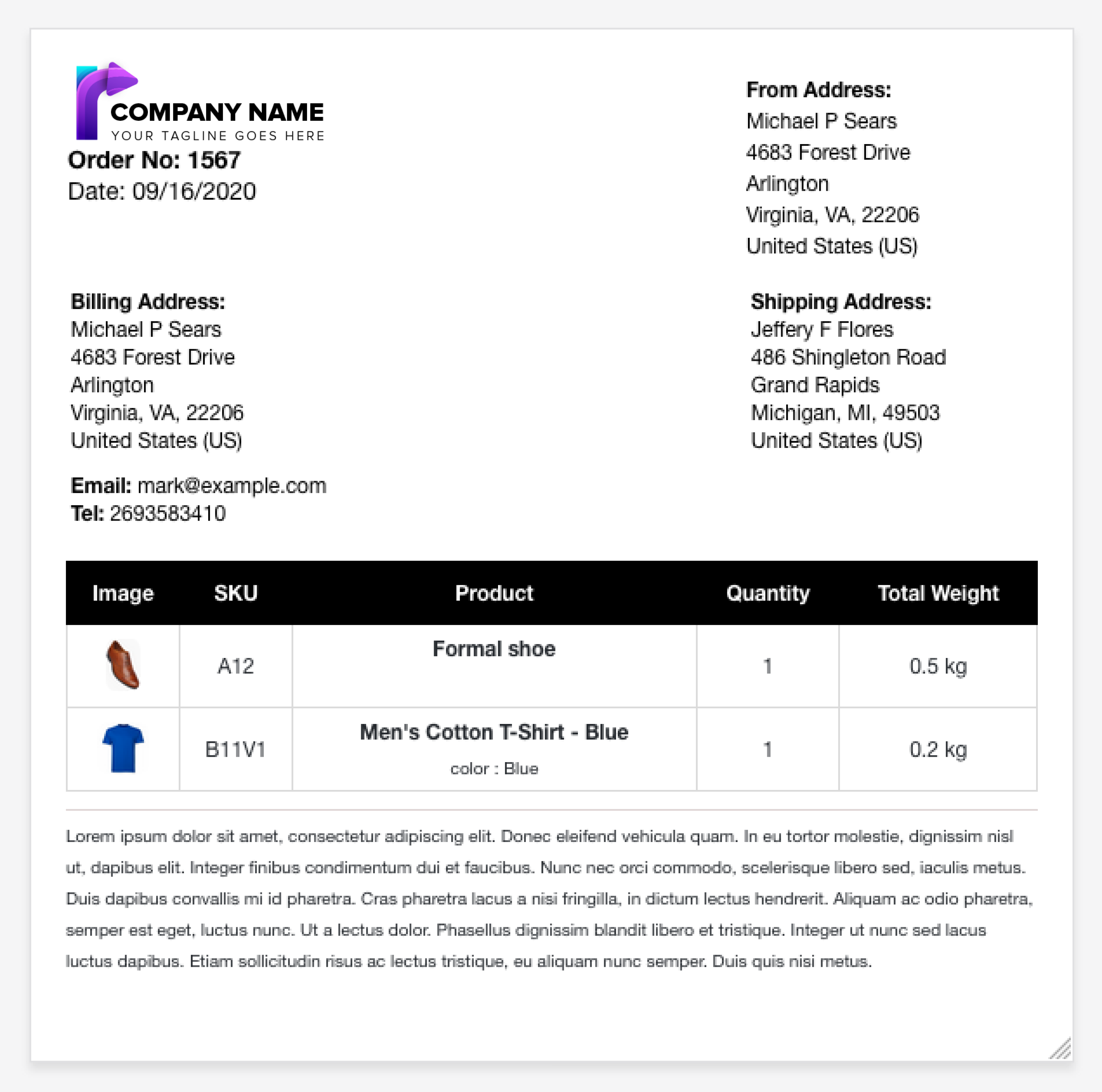 print-invoices-packing-slip-labels-for-woocommerce screenshot 4