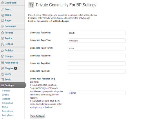 private-community-for-bp-lite screenshot 1