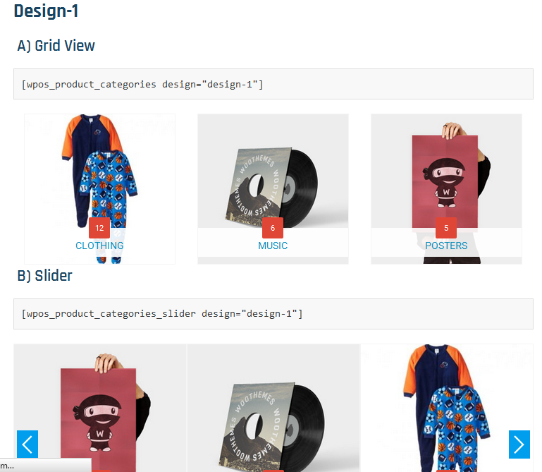 product-categories-designs-for-woocommerce screenshot 1