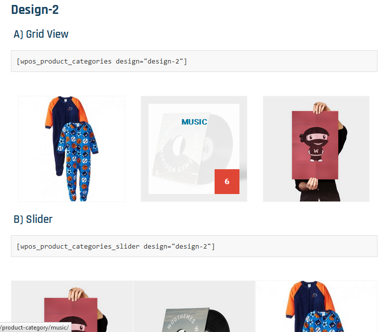 product-categories-designs-for-woocommerce screenshot 2