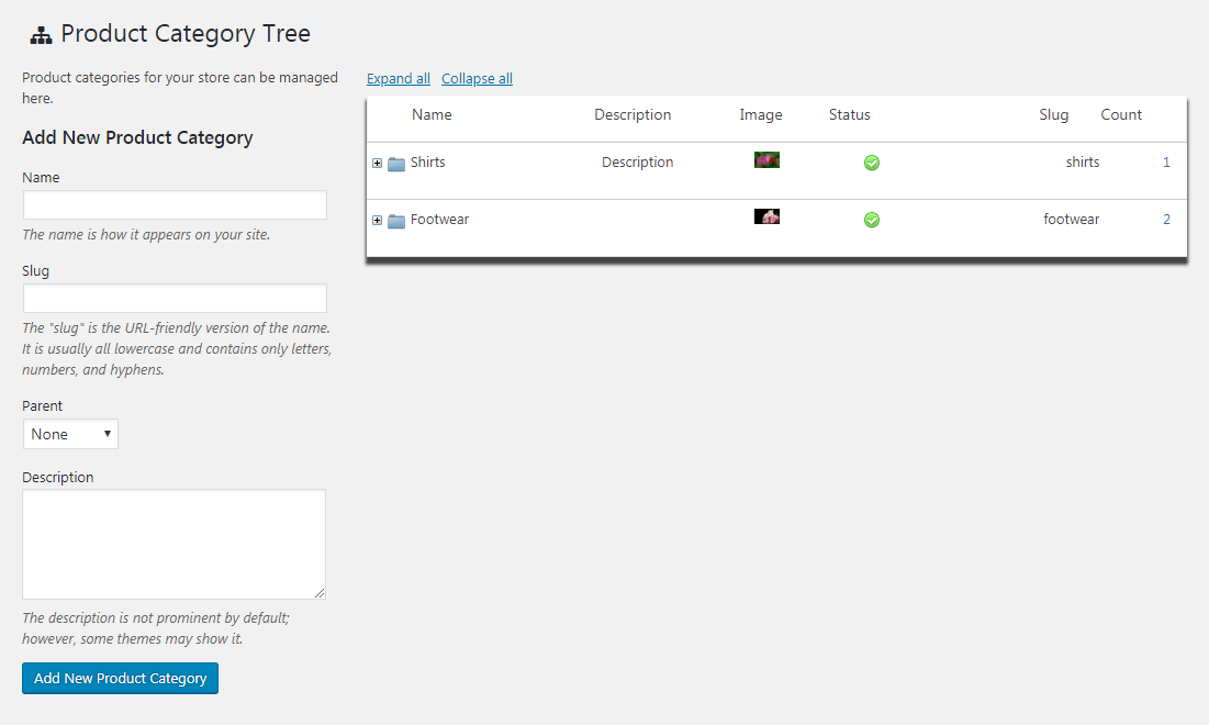 product-category-tree screenshot 1
