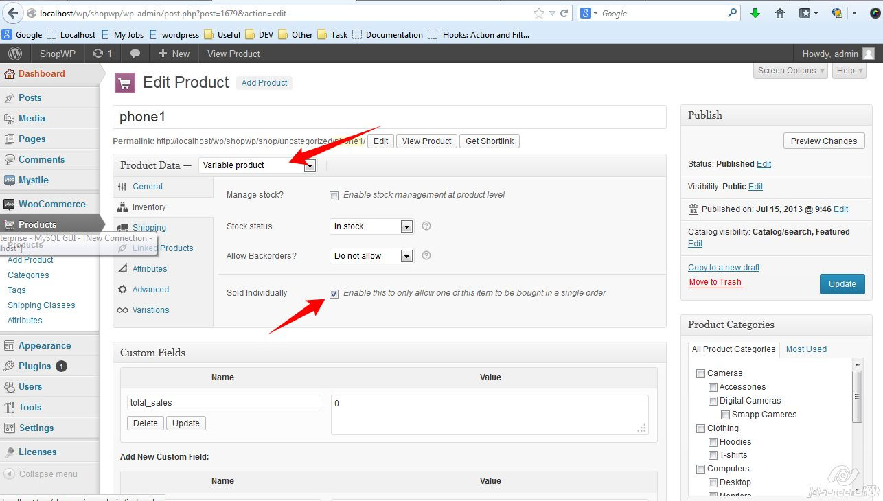 product-licensing-system screenshot 5