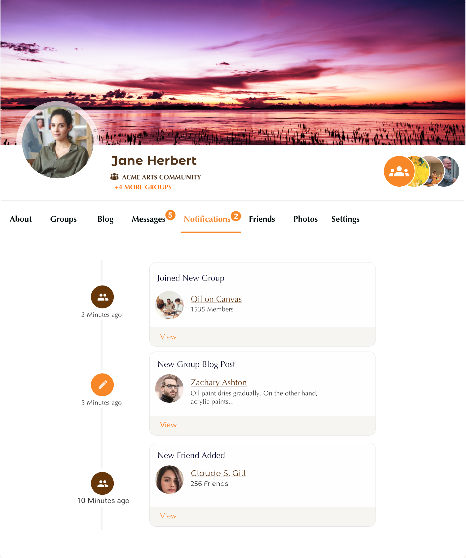 profilegrid-user-profiles-groups-and-communities screenshot 3