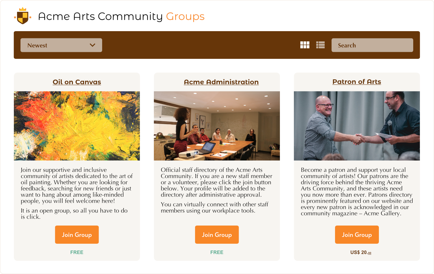 profilegrid-user-profiles-groups-and-communities screenshot 6