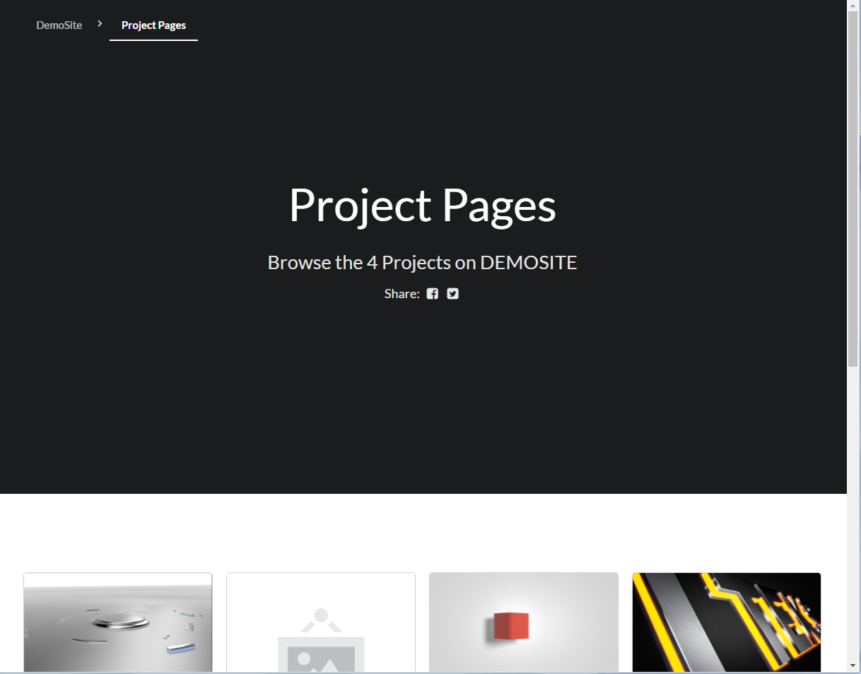 project-pages screenshot 2