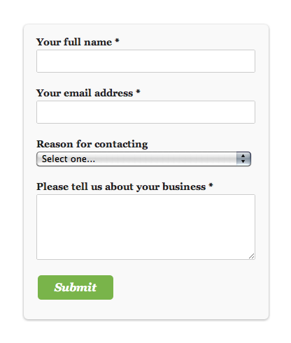 proper-contact-form screenshot 1