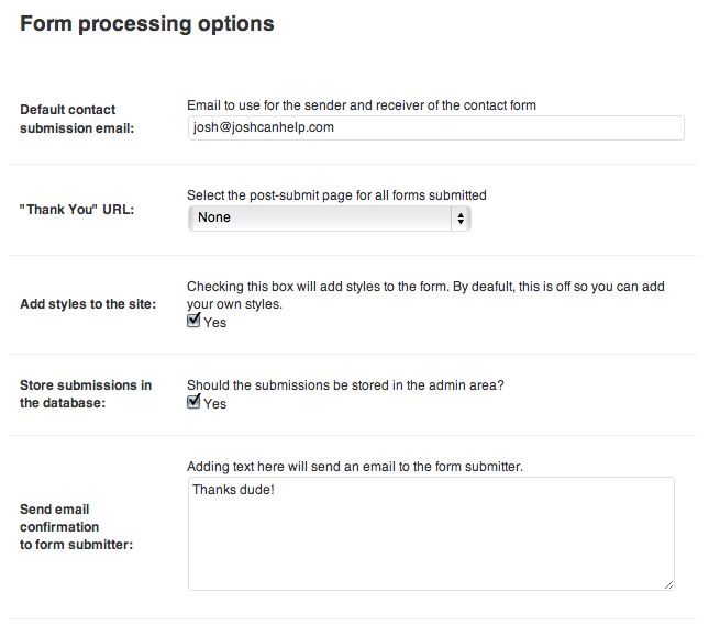 proper-contact-form screenshot 3