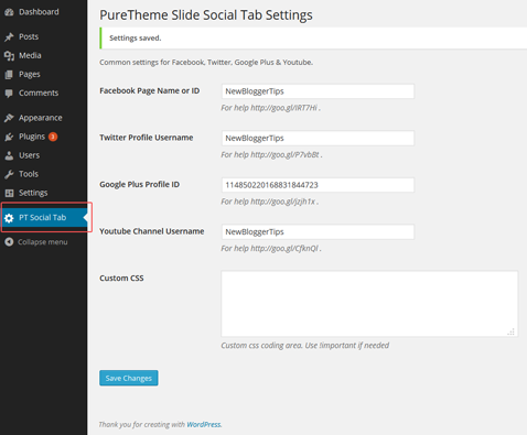 puretheme-slide-social-tabs screenshot 2