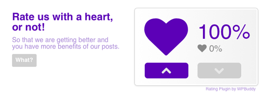 purple-heart-rating-free screenshot 1