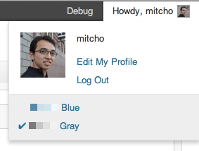 quick-admin-color-scheme-picker screenshot 2