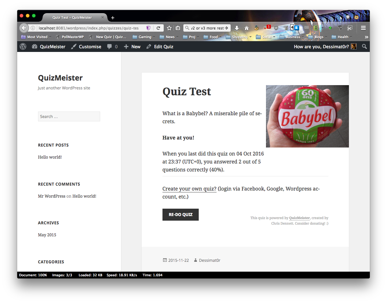 quizmeister screenshot 3