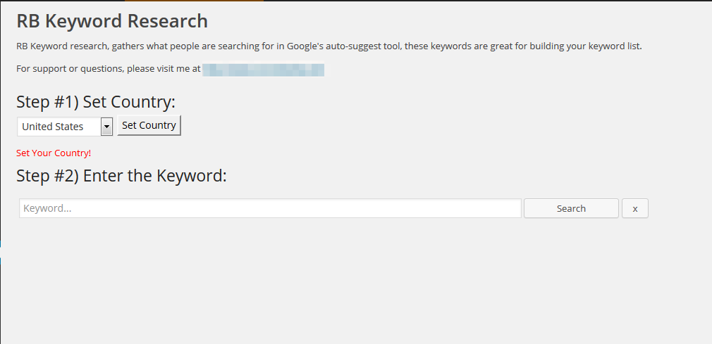 rb-keyword-research screenshot 1